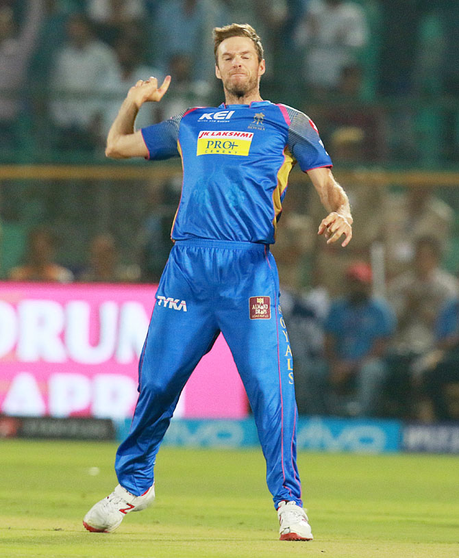Rediff Cricket - Indian cricket - DD vs RR: Star of the Match
