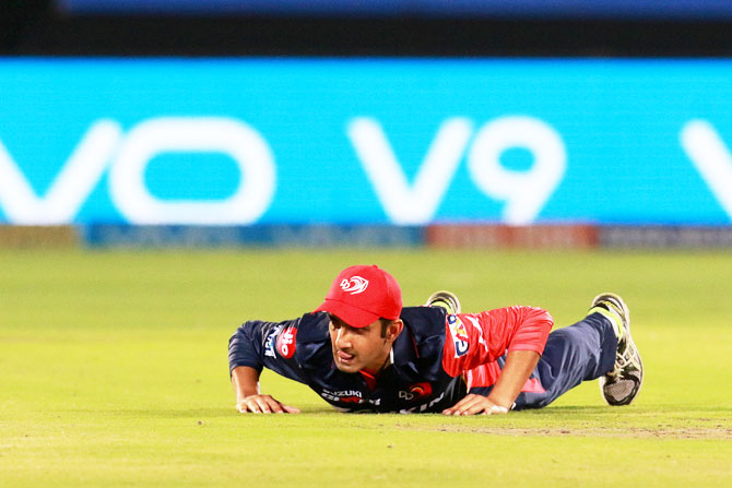 Rediff Cricket - Indian cricket - Revised target made it difficult for us: Gambhir