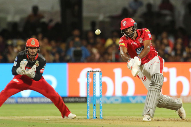 R Ashwin's rearguard action propped KXIP's score beyond the 150-mark