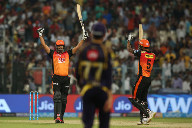 IPL PHOTOS: Hyderabad overpower KKR in five-wicket win