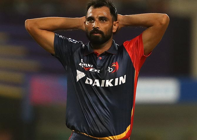 Rediff Cricket - Indian cricket - Shami grilled for 3 hours by Kolkata Police