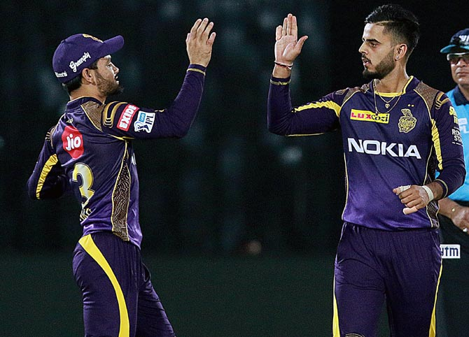 Rediff Cricket - Indian cricket - Heroes of the Game: Spinners turn it for KKR