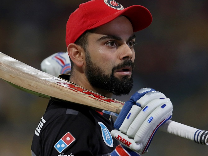 Rediff Cricket - Indian cricket - Kohli says sorry for RCB's forgettable IPL season
