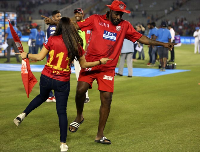 PHOTOS: 'Universe Boss' is saving the IPL... and how!