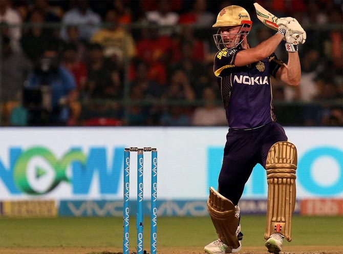 IPL PHOTOS: Lynn lifts KKR to win as RCB's poor run continues
