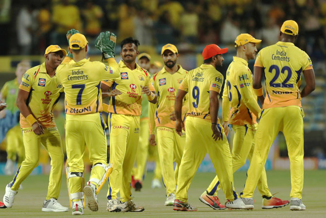Rediff Cricket - Indian cricket - Rampaging CSK look to spoil KKR's homecoming