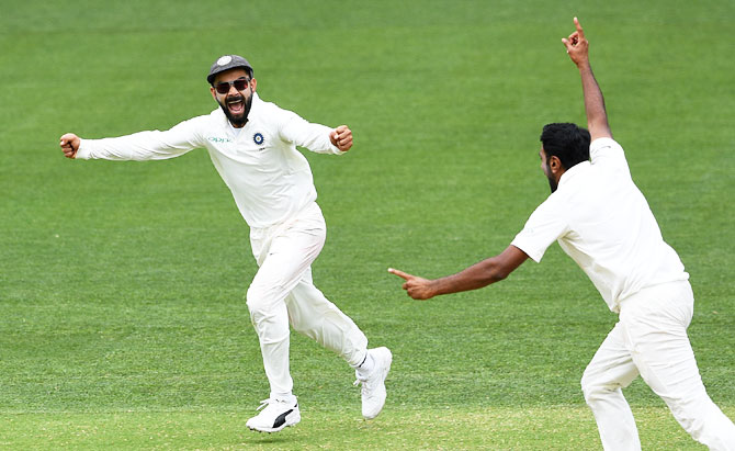 Rediff Cricket - Indian cricket - Kohli expects India to build on Adelaide win