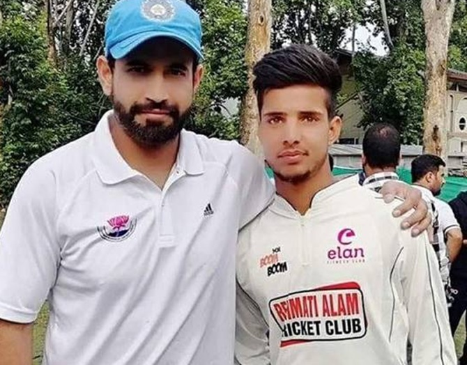 Meet Kashmir's third cricketer to be picked at IPL auction...