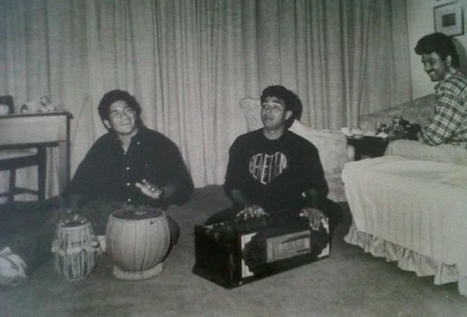Sanchin Tendulkar and Sanjay Manjrekar