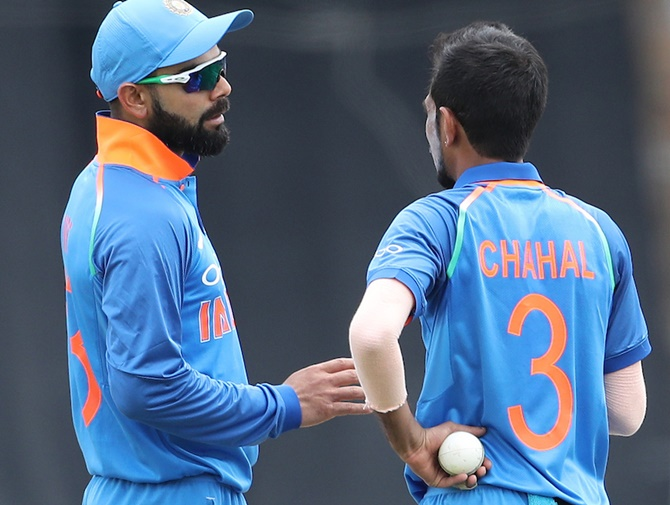 Rediff Sports - Cricket, Indian hockey, Tennis, Football, Chess, Golf - South Africans have cracked Chahal-Yadav code?
