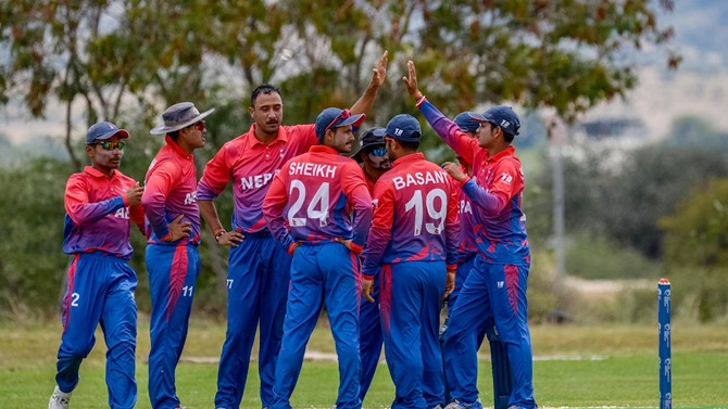 Rediff Sports - Cricket, Indian hockey, Tennis, Football, Chess, Golf - Nepal, UAE qualify for ICC World Cup Qualifier 2018