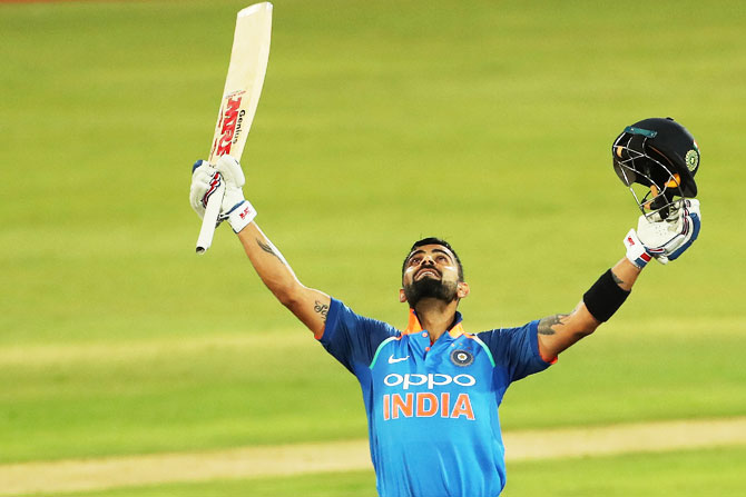 Rediff Sports - Cricket, Indian hockey, Tennis, Football, Chess, Golf - Kohli wants 'to make most of every day' he plays