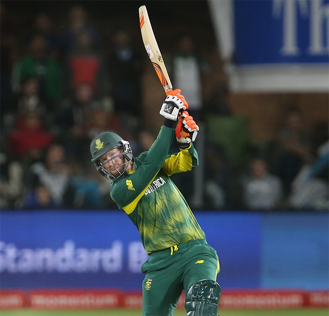 South Africa's Heinrich Klaasen played a sensational knock of 69 runs off 30 balls on Wednesday