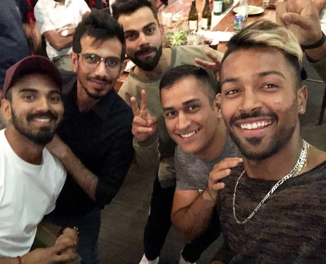 Photos Pandya Does A Srk As Team India Chill In Sa