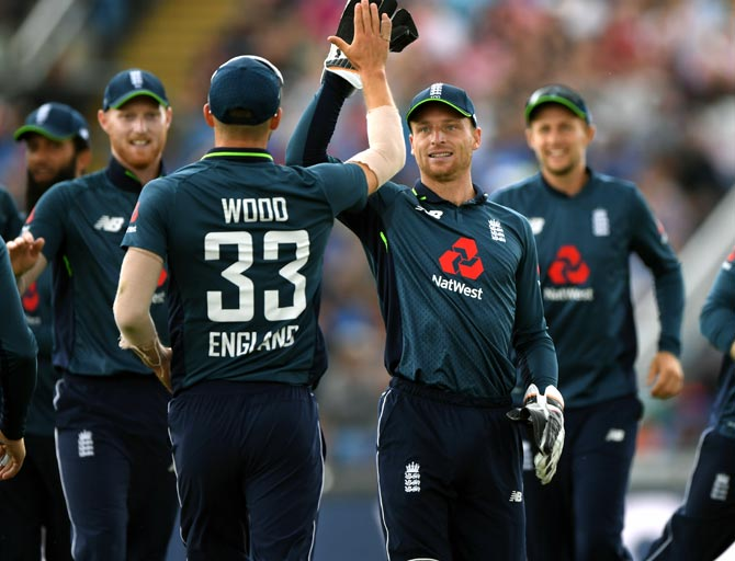 Rediff Sports - Cricket, Indian hockey, Tennis, Football, Chess, Golf - What makes England the big favourites for 2019 ODI World Cup