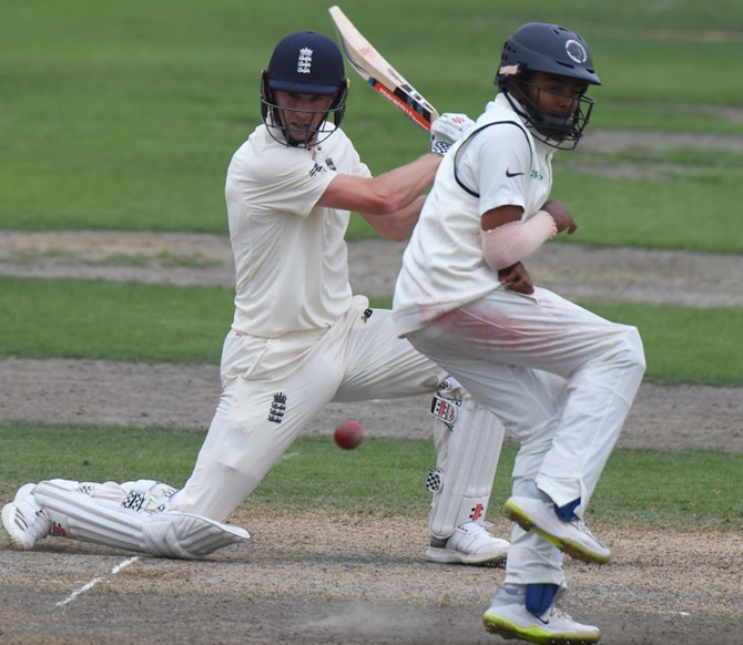 Rediff Sports - Cricket, Indian hockey, Tennis, Football, Chess, Golf - England Lions in driver's seat against India 'A'