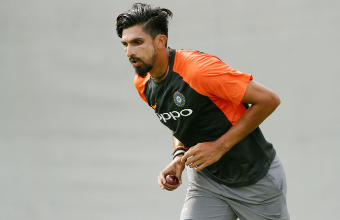 Ishant Sharma will once again shoulder the responsibility of India's bowling