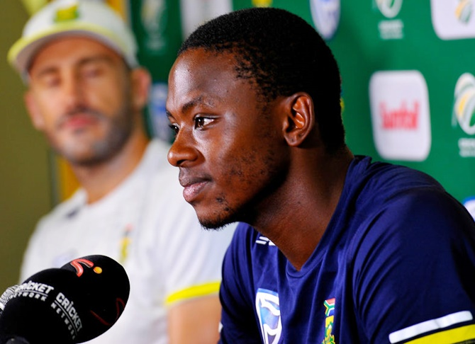 Rediff Sports - Cricket, Indian hockey, Tennis, Football, Chess, Golf - Two things Rabada learnt from his latest ban