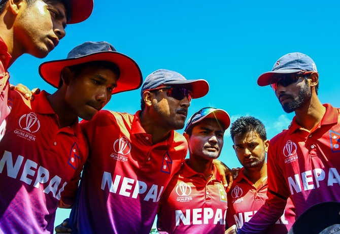 Rediff Sports - Cricket, Indian hockey, Tennis, Football, Chess, Golf - Nepal complete 'massive' leap to ODI nation