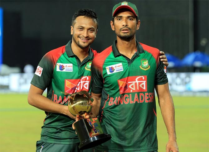 Rediff Sports - Cricket, Indian hockey, Tennis, Football, Chess, Golf - I must know how to react next time, I will be careful: Shakib