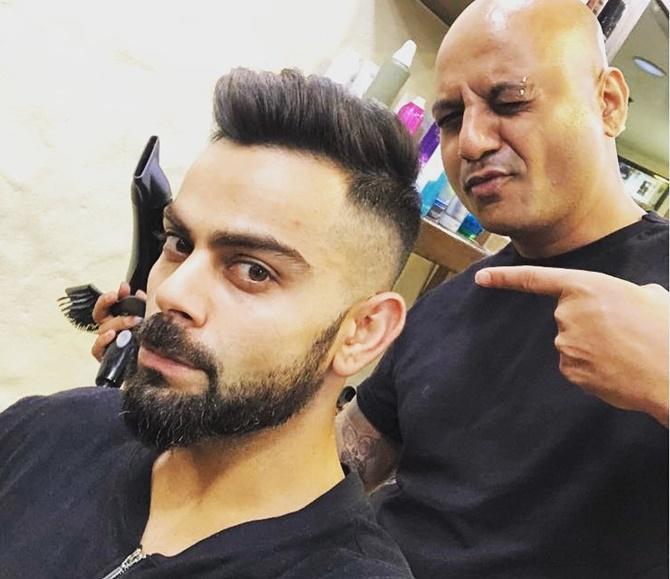 Do You Like Captain Kohli S New Look Rediff Cricket