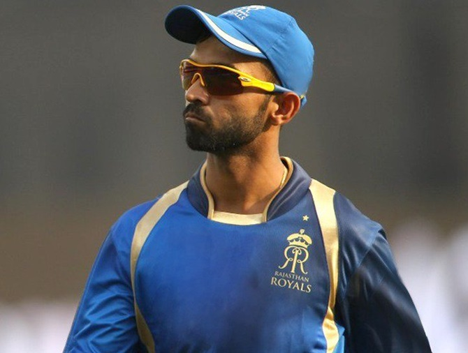 Rahane fined Rs 12 lakh for slow-over rate against MI