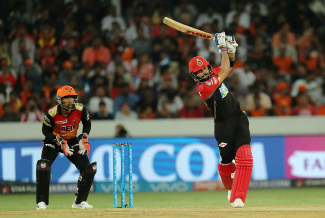 Virat Kohli rotated the strike well and had a good partnership with Vohra
