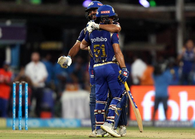 IPL PHOTOS: Mumbai Indians humiliate KKR by 102 runs