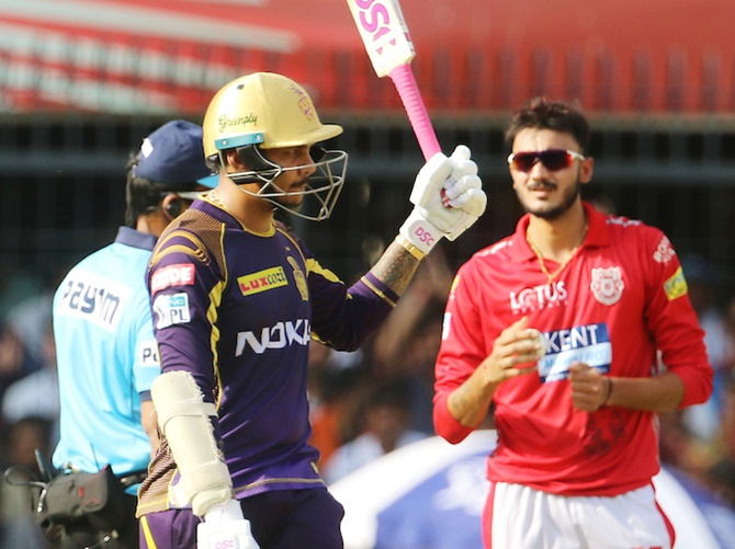 PHOTOS: Narine keeps KKR in hunt after defeating KXIP