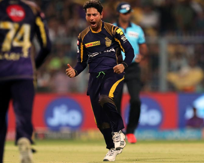IPL PHOTOS: Kuldeep shines in KKR's easy win over Royals