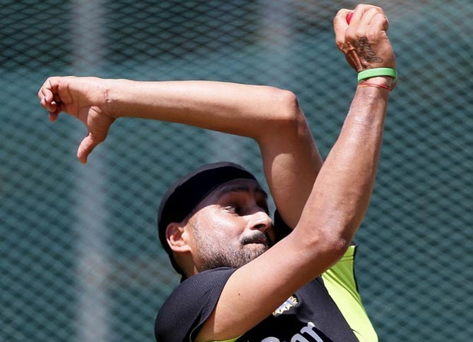 Rediff Cricket - Indian cricket - India's pink-ball shyness leaves Harbhajan perplexed