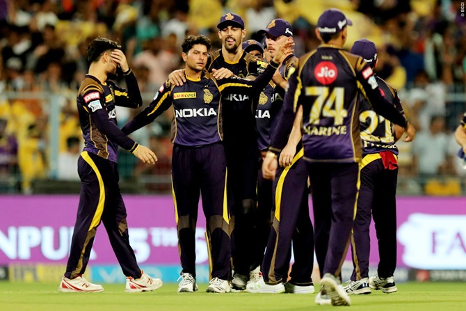 Rediff Cricket - Indian cricket - Can Knight Riders beat Sunrisers and seal play-offs berth?