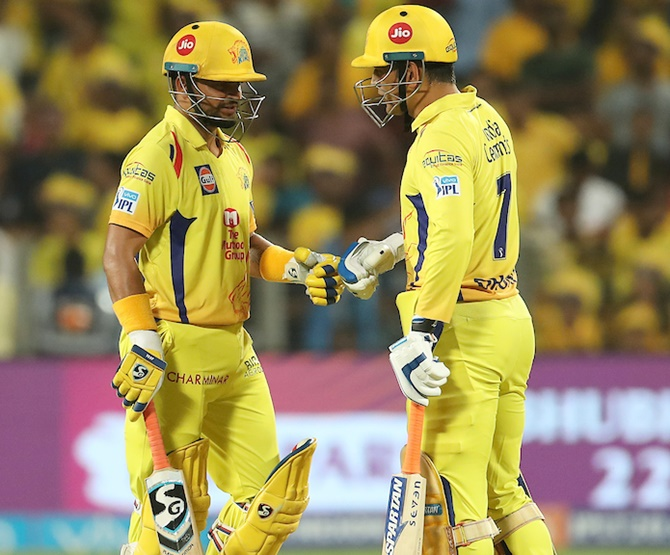 Rediff Cricket - Indian cricket - IPL PHOTOS: CSK's win eliminates Punjab, sends Royals into play-offs