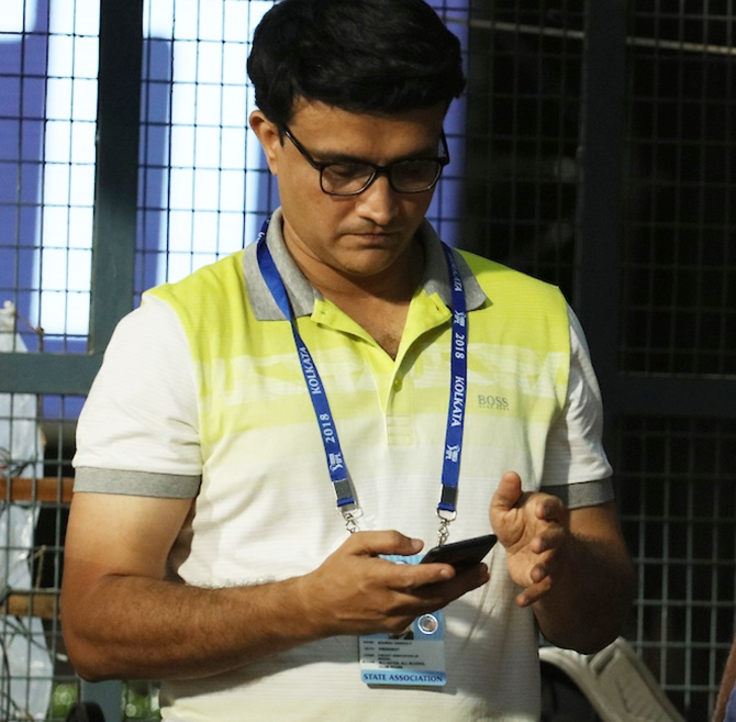Rediff Cricket - Indian cricket - Ganguly against toss abolition in Test matches