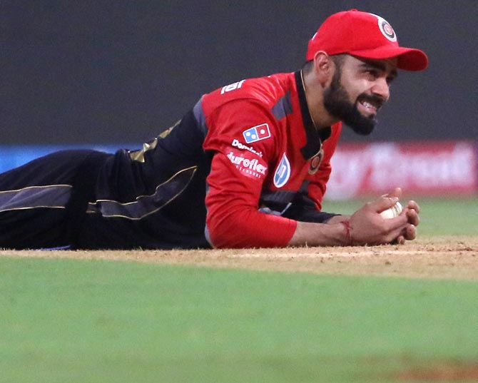 Rediff Cricket - Indian cricket - What went wrong for Kohli-led RCB in IPL-11