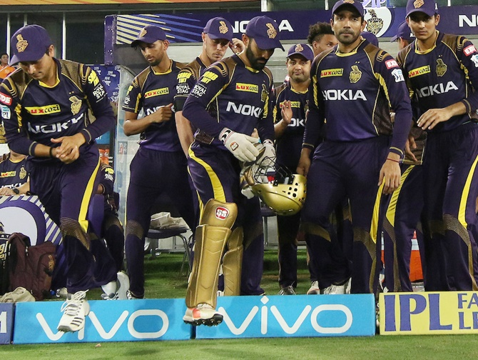 Rediff Cricket - Indian cricket - IPL Eliminator: Rajasthan have a mountain to climb against KKR
