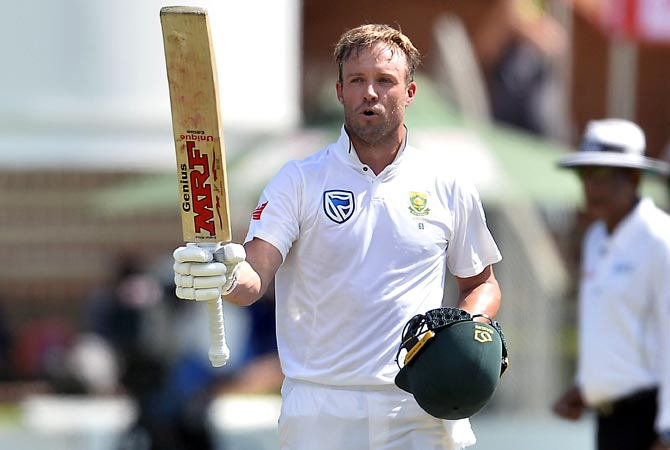 Rediff Cricket - Indian cricket - AB de Villiers retires from international cricket