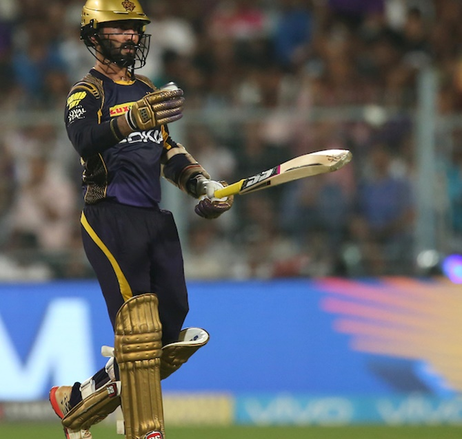 Rediff Sports - Cricket, Indian hockey, Tennis, Football, Chess, Golf - How KKR eliminated depleted Rajasthan