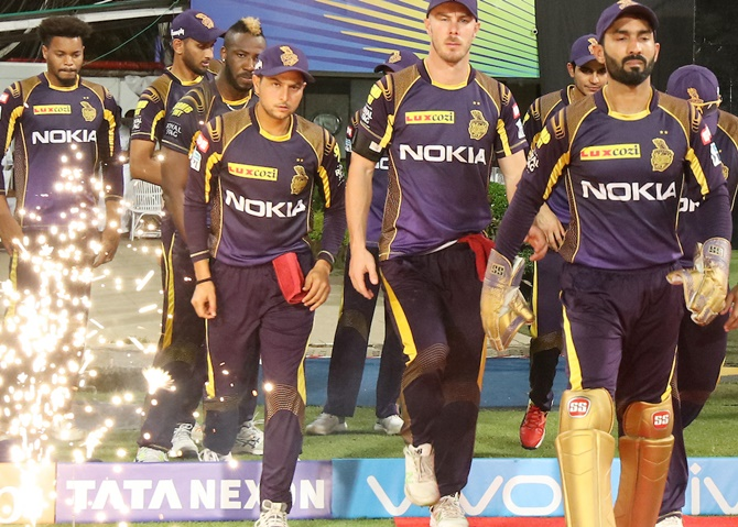 Rediff Cricket - Indian cricket - IPL Qualifier-II: Upbeat KKR ready for Sunrisers battle