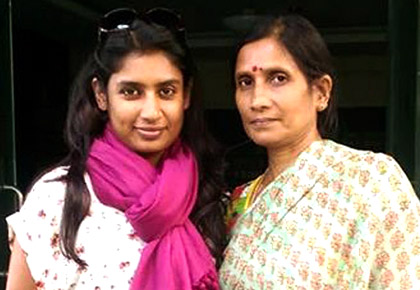 Rediff Sports - Cricket, Indian hockey, Tennis, Football, Chess, Golf - My Daughter Mithali Raj