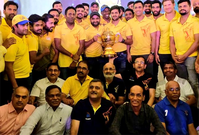 WATCH: Champions CSK accorded rapturous welcome on return to Chennai
