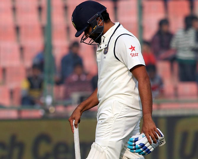 'Rohit Sharma has never really come to grips with batting in Test cricket'