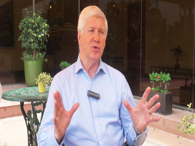 Cricket commentator Alan Wilkins began his career with South African Broadcasting before working for BBC and then Star Sports
