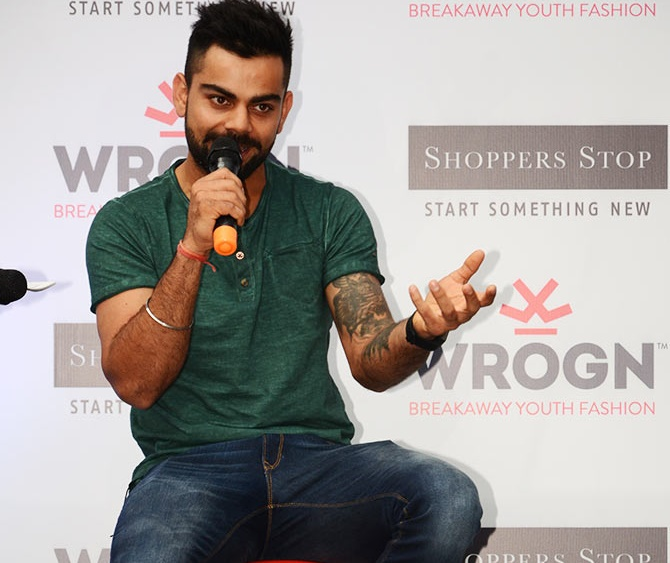 Rediff Sports - Cricket, Indian hockey, Tennis, Football, Chess, Golf - Balancing cricket and endorsements easy: Kohli
