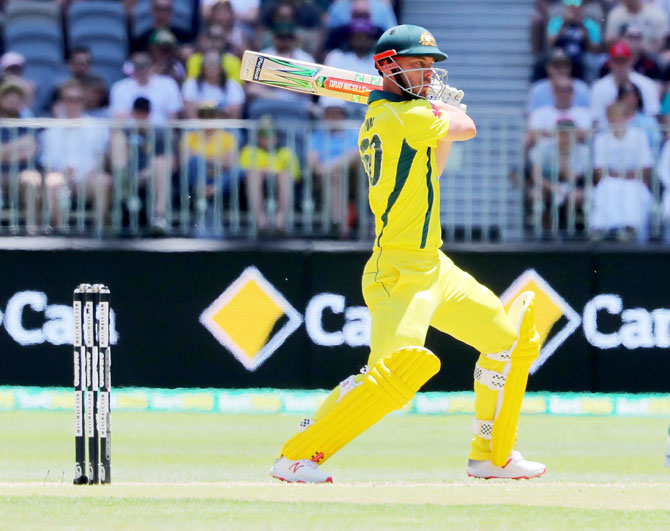 Rediff Sports - Cricket, Indian hockey, Tennis, Football, Chess, Golf - Australia's Lynn likely to open batting against India in ODIs