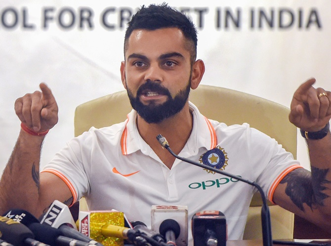 'Kohli is so competitive, he really thrives on confrontations'