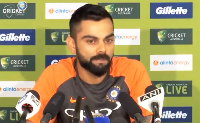 Kohli on aggression, sledging and having top-class bowlers