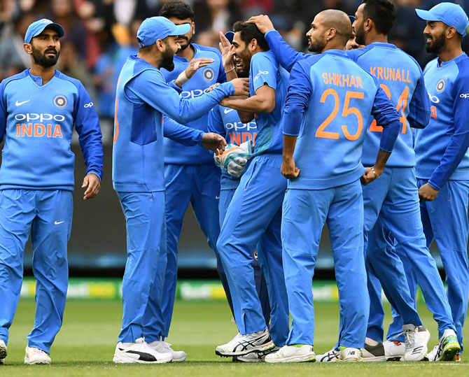 Rediff Cricket - Indian cricket - Australia vs India 2nd T20I called off due to rain