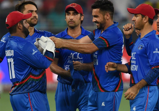 'Their (Afghanistan's) cricket has improved a lot. The way they have continued from the start of the Asia Cup, it is commendable and we have enjoyed their cricket'