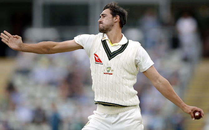 Out-of-favour Starc enjoying team's success - Rediff Cricket